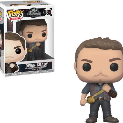 Jurassic World Pop Vinyl: Owen Grady