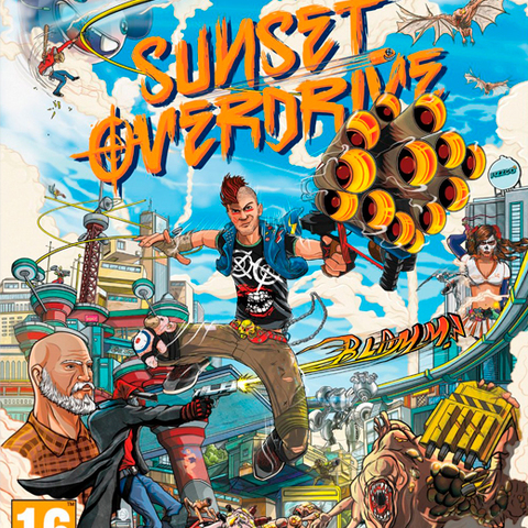 Sunset Overdrive (verpakking Duits, game Engels)