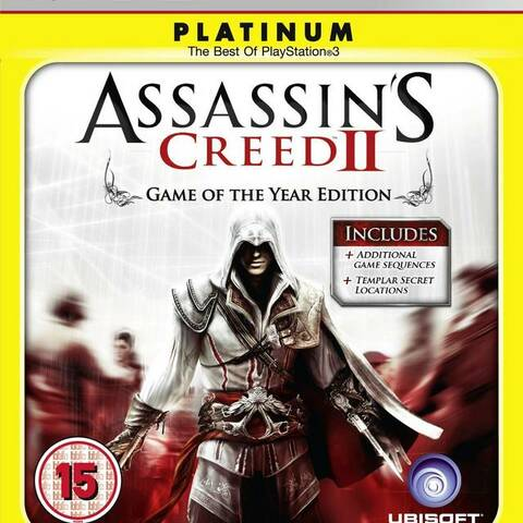 Assassin's Creed 2 Game of the Year Edition (platinum)