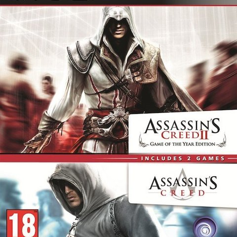 Assassin's Creed 1 + 2 (Double Pack)