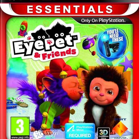 EyePet & Friends (Move) (essentials)