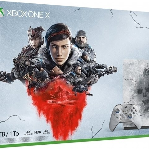 Xbox One X - 1TB Gears 5 Limited Edition