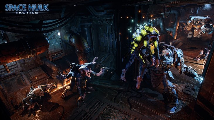 Cyanide's turn-based Space Hulk: Tactics will have a Genestealer campaign