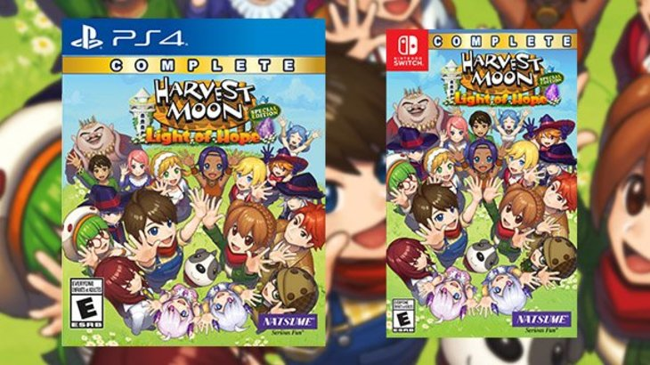 Harvest Moon: Light of Hope Special Edition Complete launches July 30