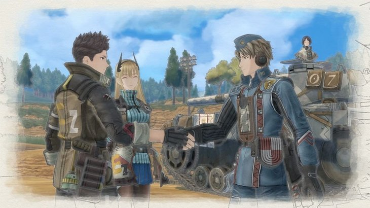 Squad 7 return in Valkyria Chronicles 4, free with any DLC