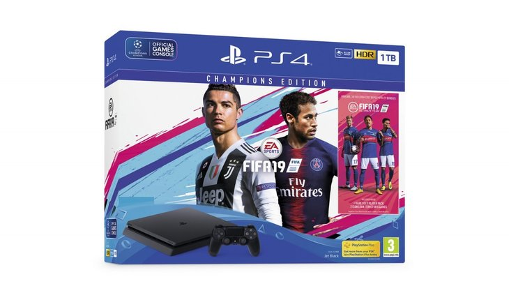Sony's Readying an Entire Line of FIFA 19 PS4 Bundles in Europe