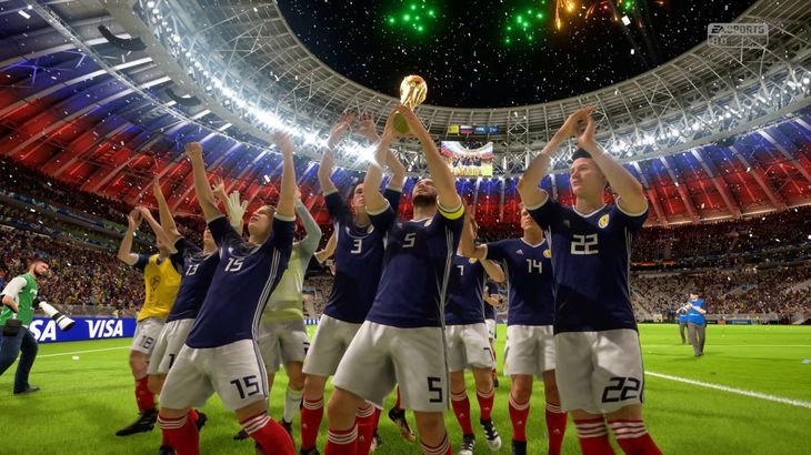 I took Scotland to glory in FIFA 18's Russia World Cup 2018 mode