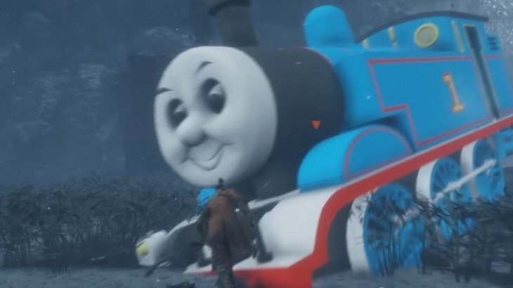 News: Sekiro mod turns the Great Serpent into Thomas the Tank Engine